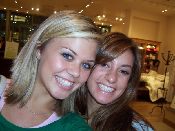 My friend Heather and I. She's so beautiful!!