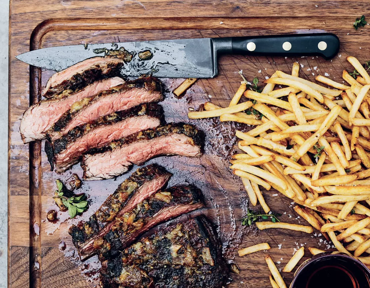 FOOD & WINE MAGAZINE  5 Ways to Flavor Your Meat While It's Resting, June 2016