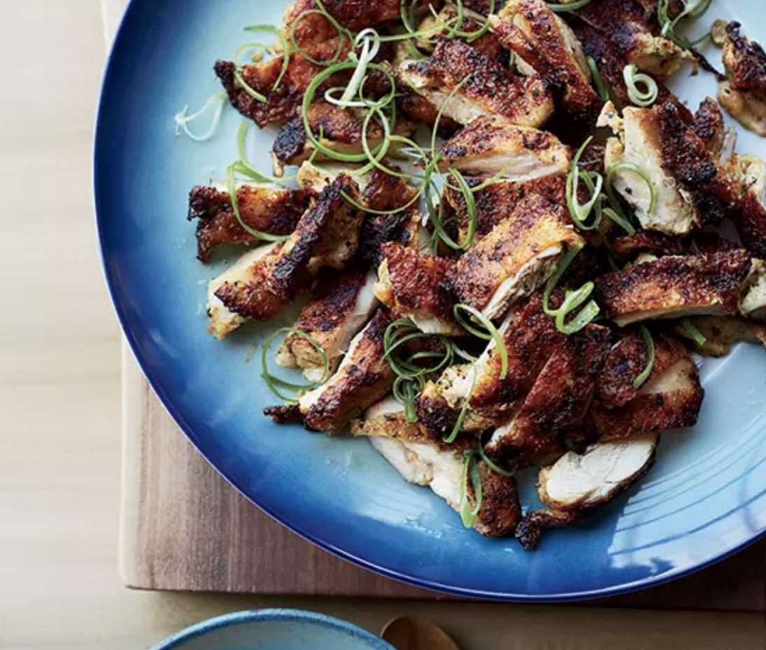FOOD & WINE MAGAZINE  This Super-Simple Trick for Crispy Chicken Skin Is a No Brainer You'll Use for the Rest of Time, August 2018