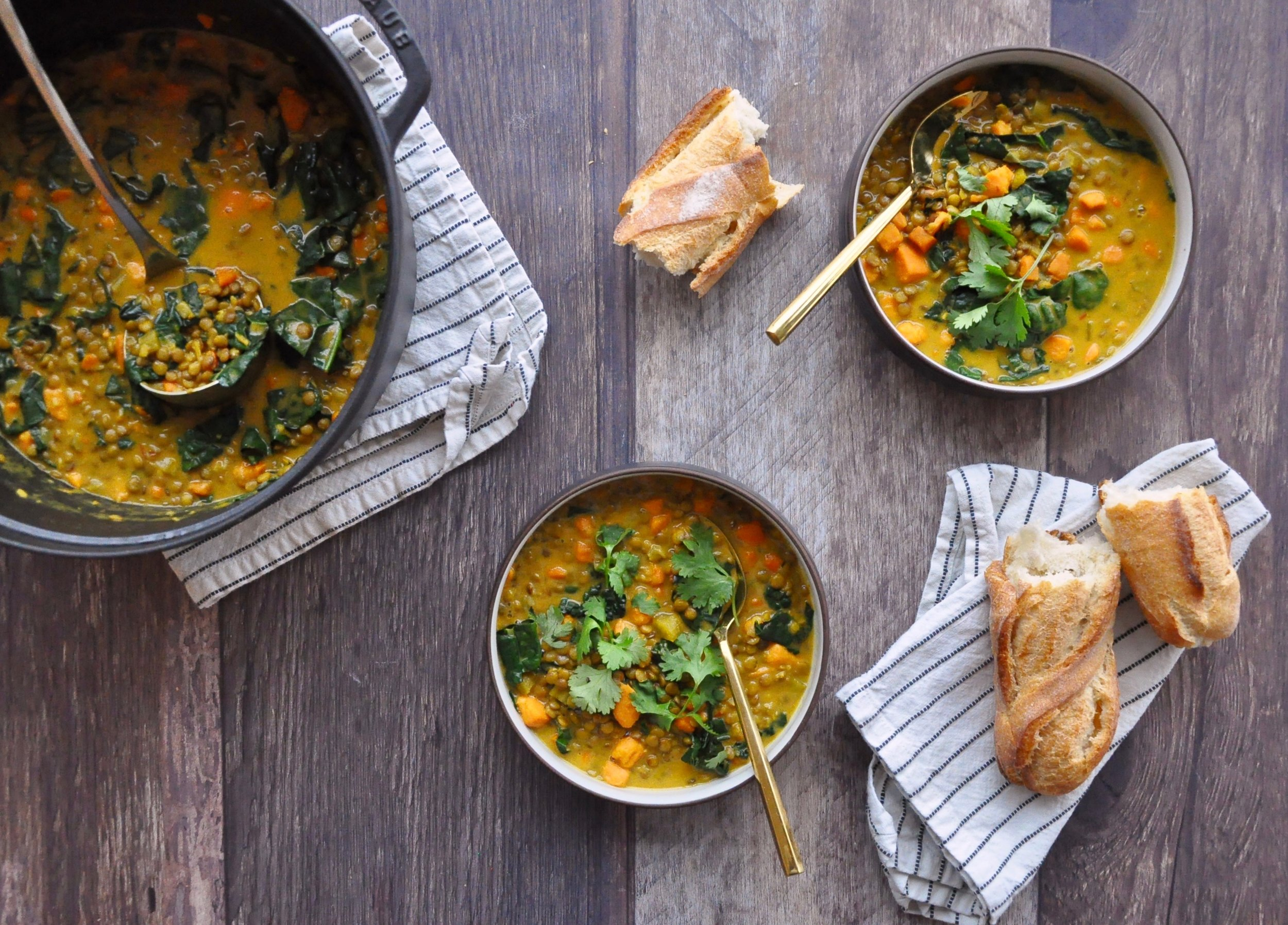 FOOLPROOF LENTIL SOUP  Private Consulting Client