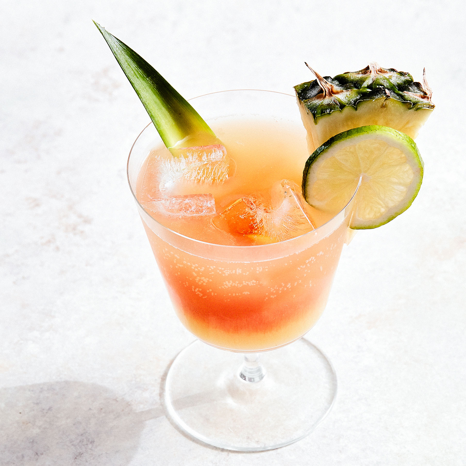 GINGER-PINEAPPLE SPRITZER  Furthermore from Equinox