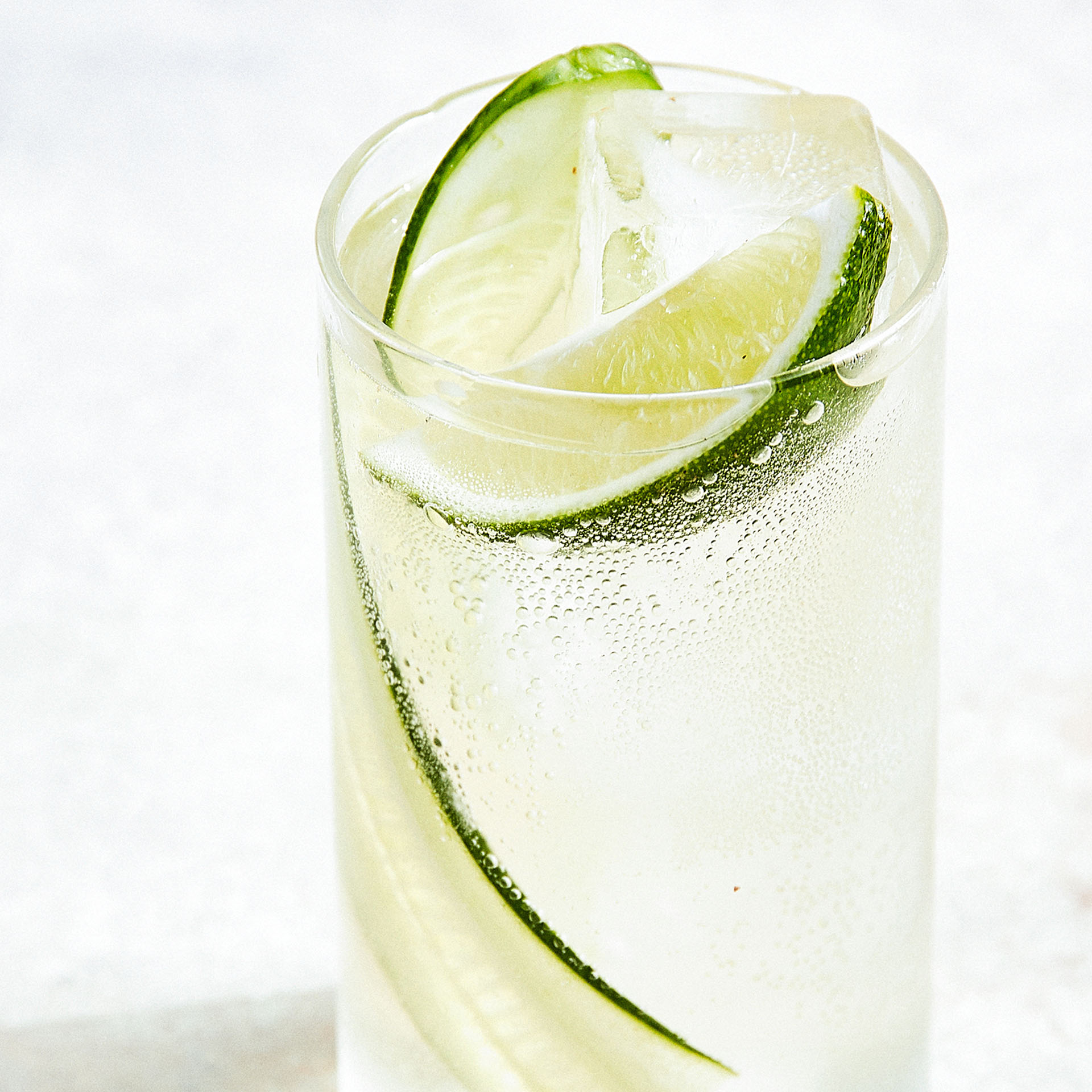 JUNIPER-LIME SPRITZER  Furthermore from Equinox