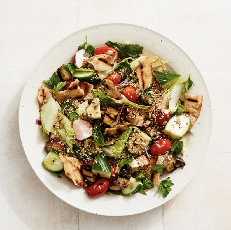 GRILLED FATTOUSH  Furthermore from Equinox