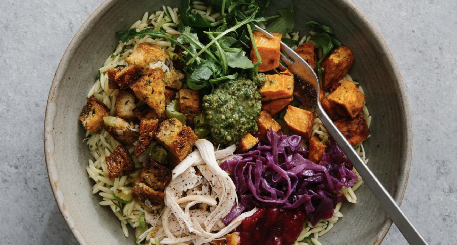 ULTIMATE THANKSGIVING LEFTOVERS BOWL  Furthermore from Equinox