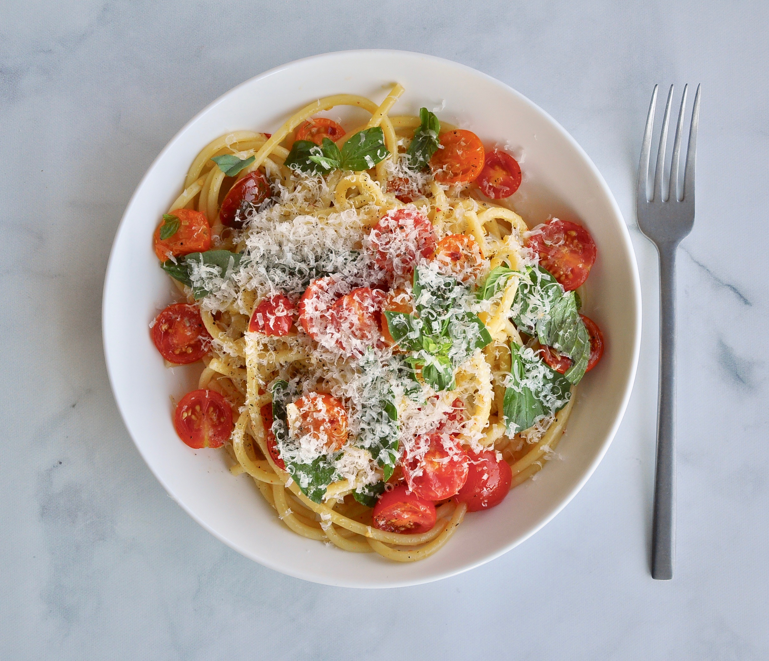 NO-COOK SUMMER TOMATO SAUCE  Private Consulting Client