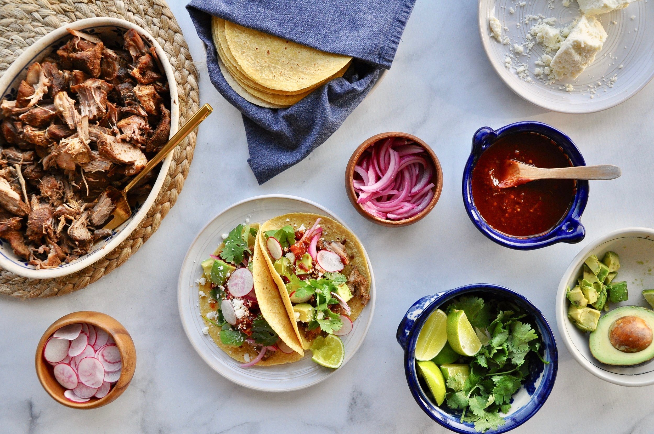 SLOW-COOKER PULLED PORK TACOS  Private Consulting Client