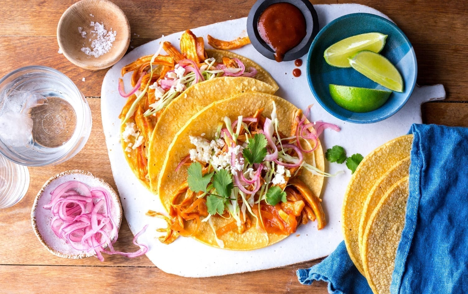 SLOW-COOKER CHICKEN PIBIL TACO  Under Armour x My Fitness Pal