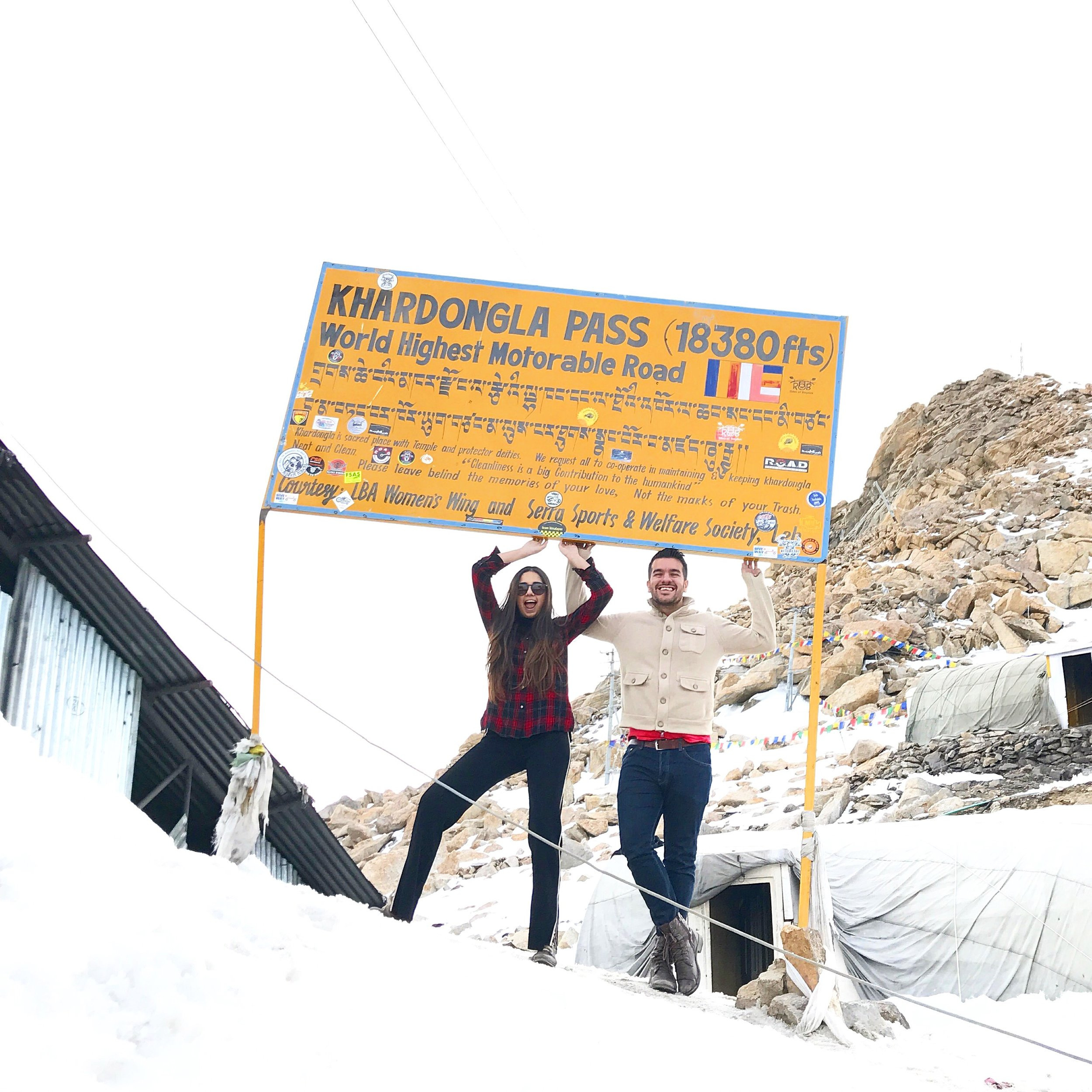 Khardongla pass (India)