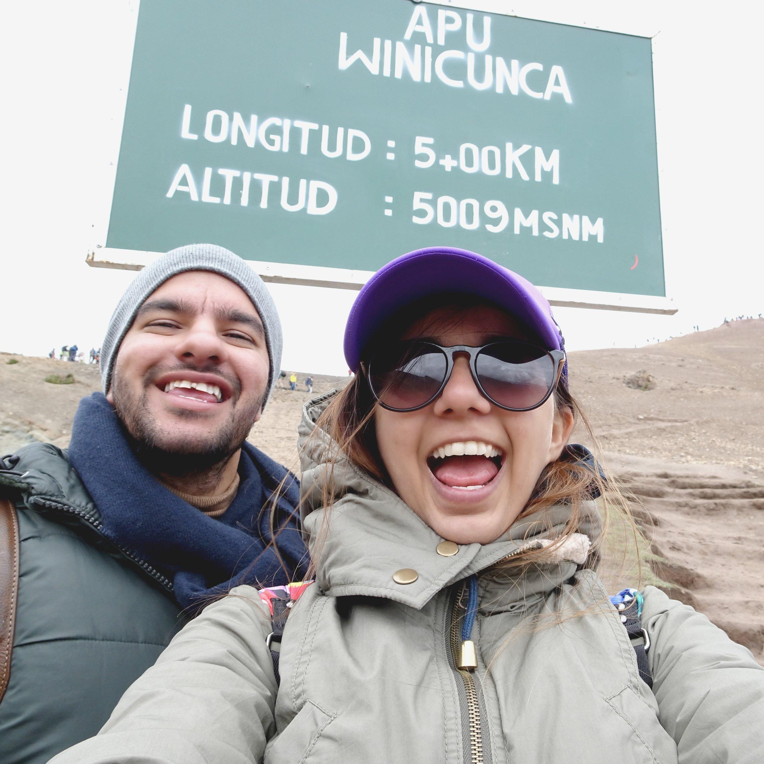 Rainbow mountains (Peru)
