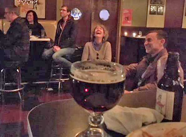 - Stories are just plain FUN! A good story, a good beer and a good laugh. What's better than that?