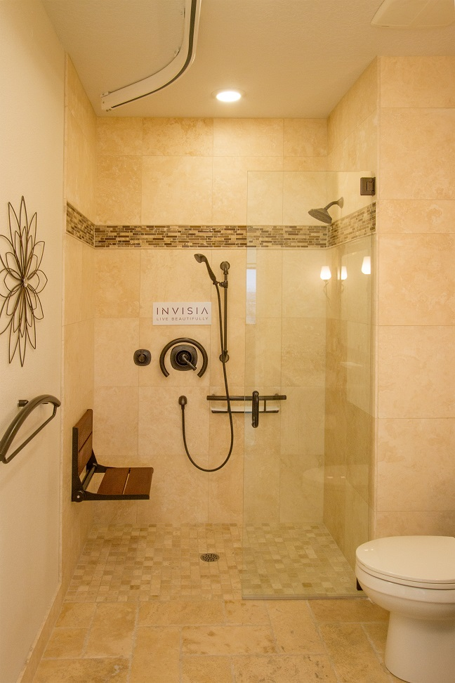 Barrier free shower: Access Solutions
