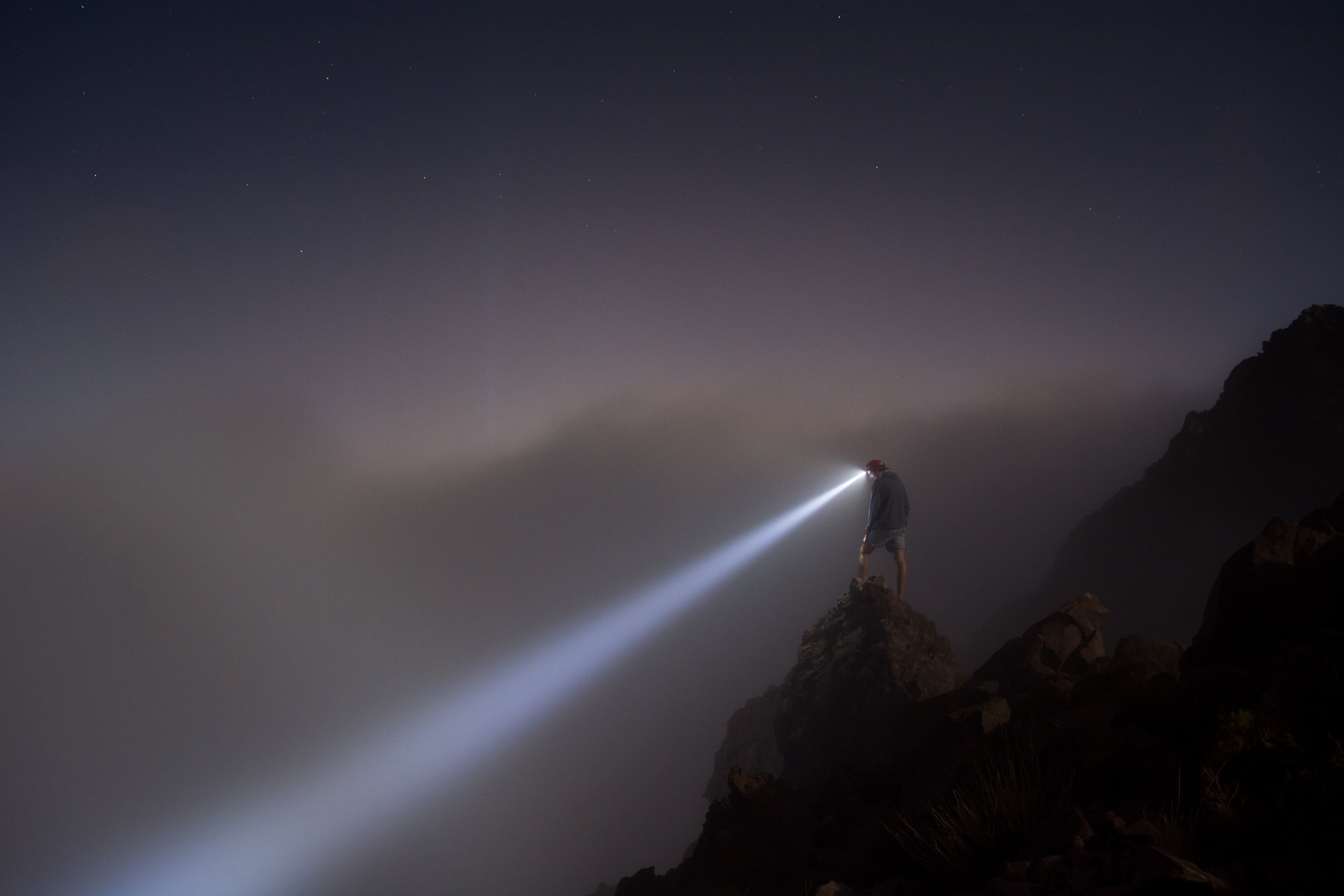 You probably won't be traversing through the wilderness. Although, it's still nice to have a flashlight!    Photo by Unsplash