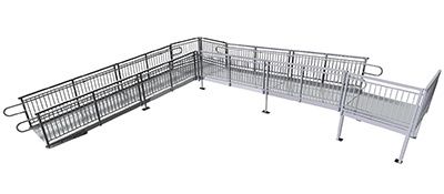 Photo of modular ramp by Upside Innovations