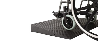 Photo of threshold ramp by Upside Innovations