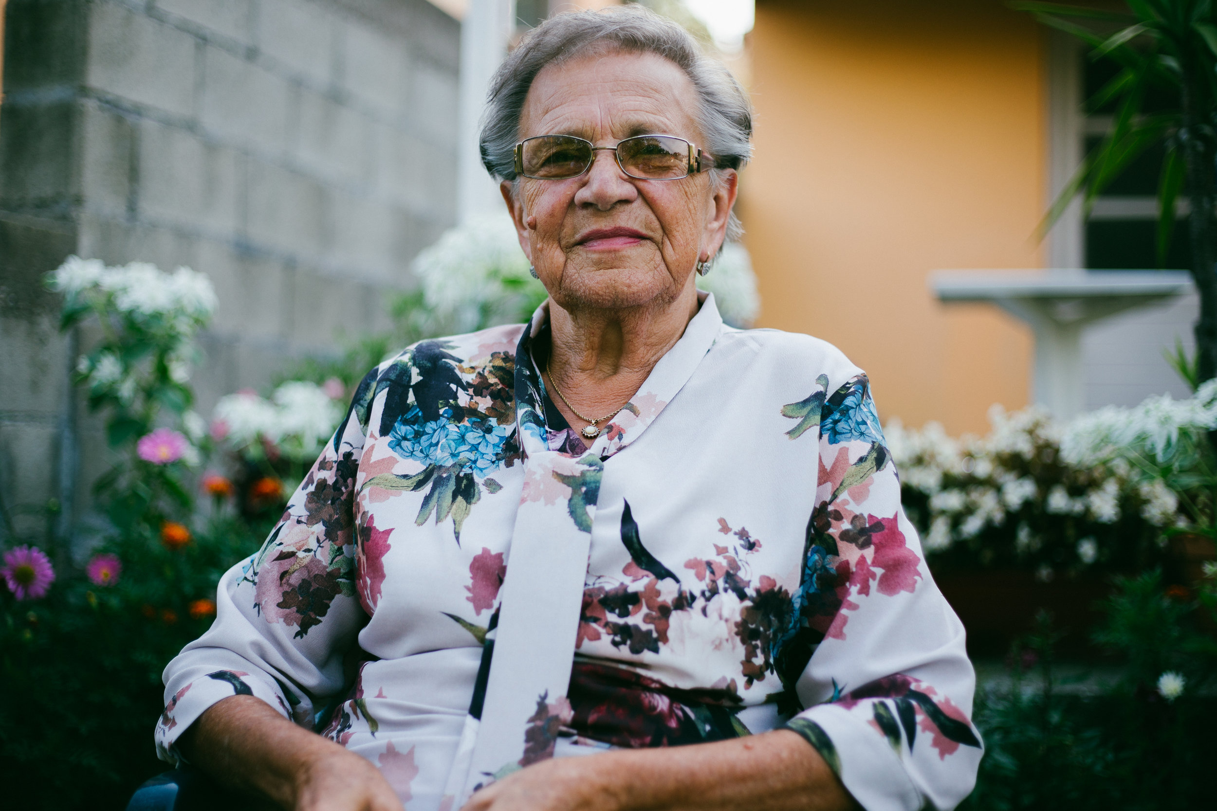Photo of smiling older adult woman by Unsplash.