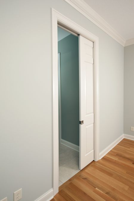 Pocket door by The Spruce