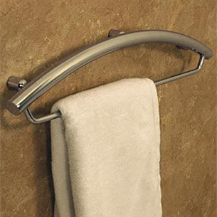 Photo of towel rack grab bar by Invisia at Plumbing Supply