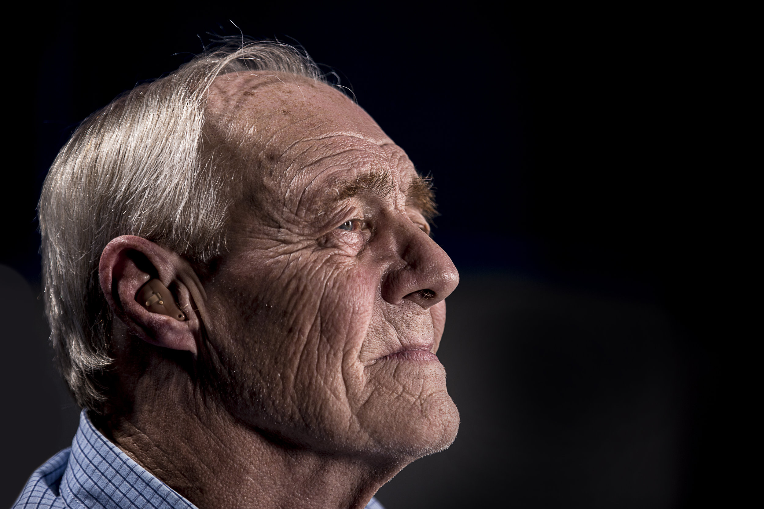 Photo of older adult gentleman by Unsplash.