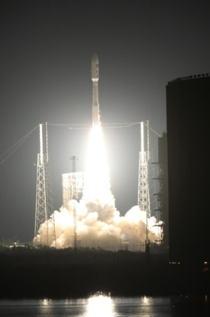 GOES-R Satellite Liftoff (image courtesy of NASA)