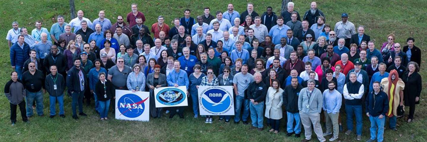 Here is a photo that captures nearly the entire GOES-R Team. TPM is proud to be a part of it!