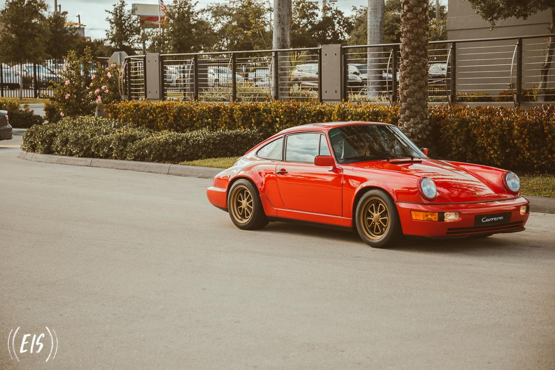 964 Porsche Red