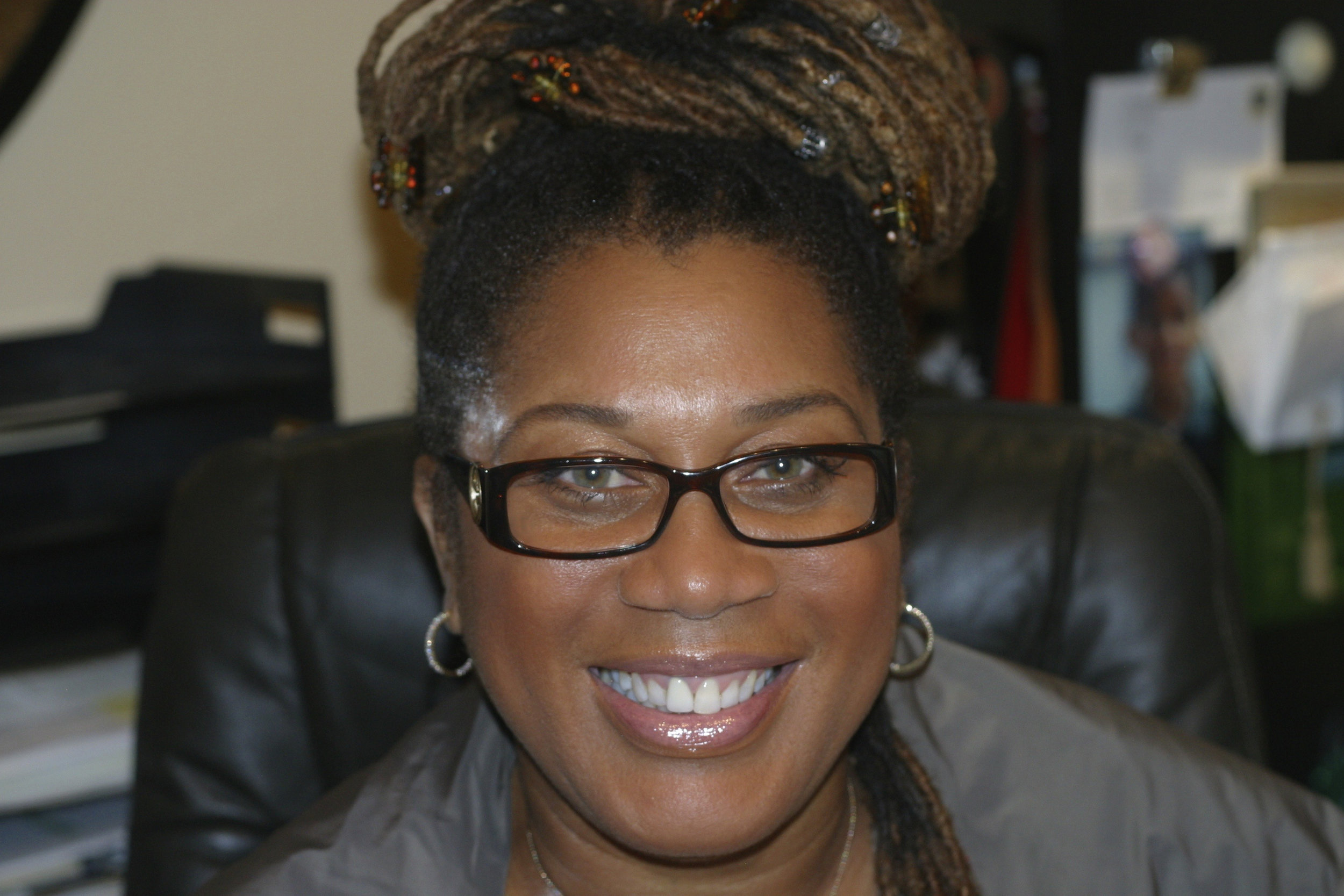"""""""Having worked with Marietta Carter-Narcisse on Tina: What's Love Got to Do With It, I had the utmost confidence that she could capture the period and give me the beauty as well as real life Whitney. That's one department that was covered and allowed me to concentrate on the million other decisions."""