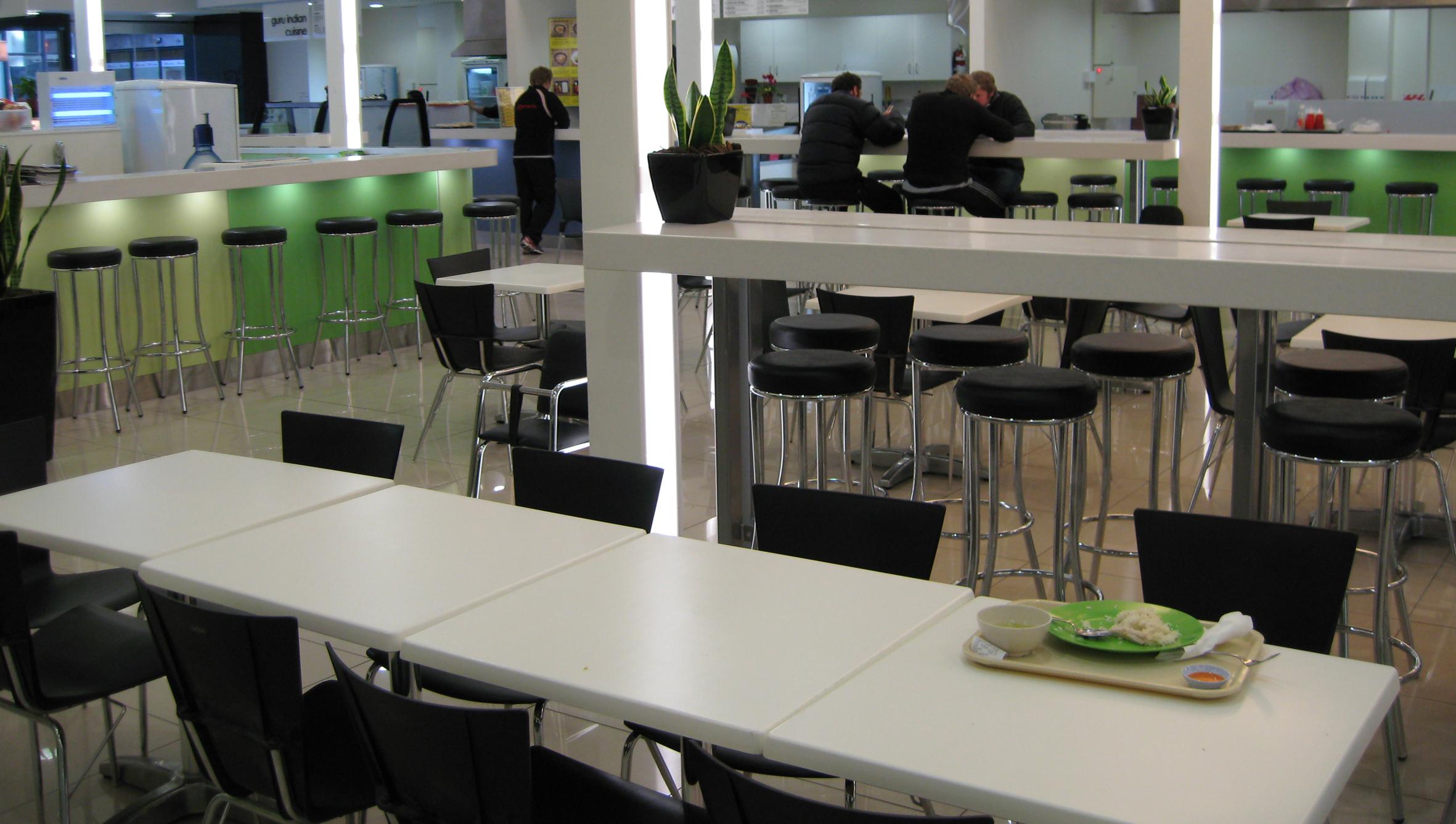 Cashel St food court