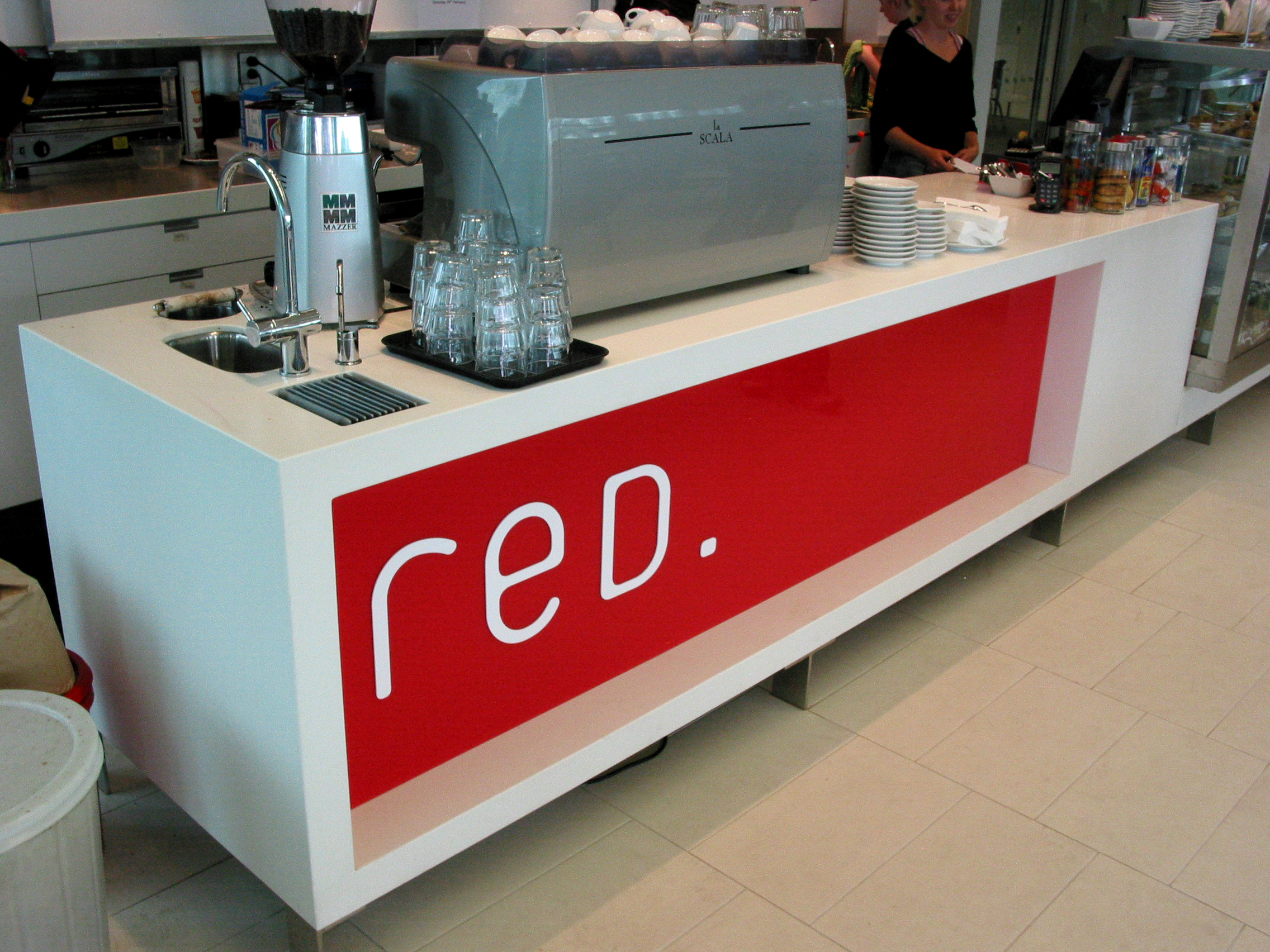Red Cafe  Riccarton Library