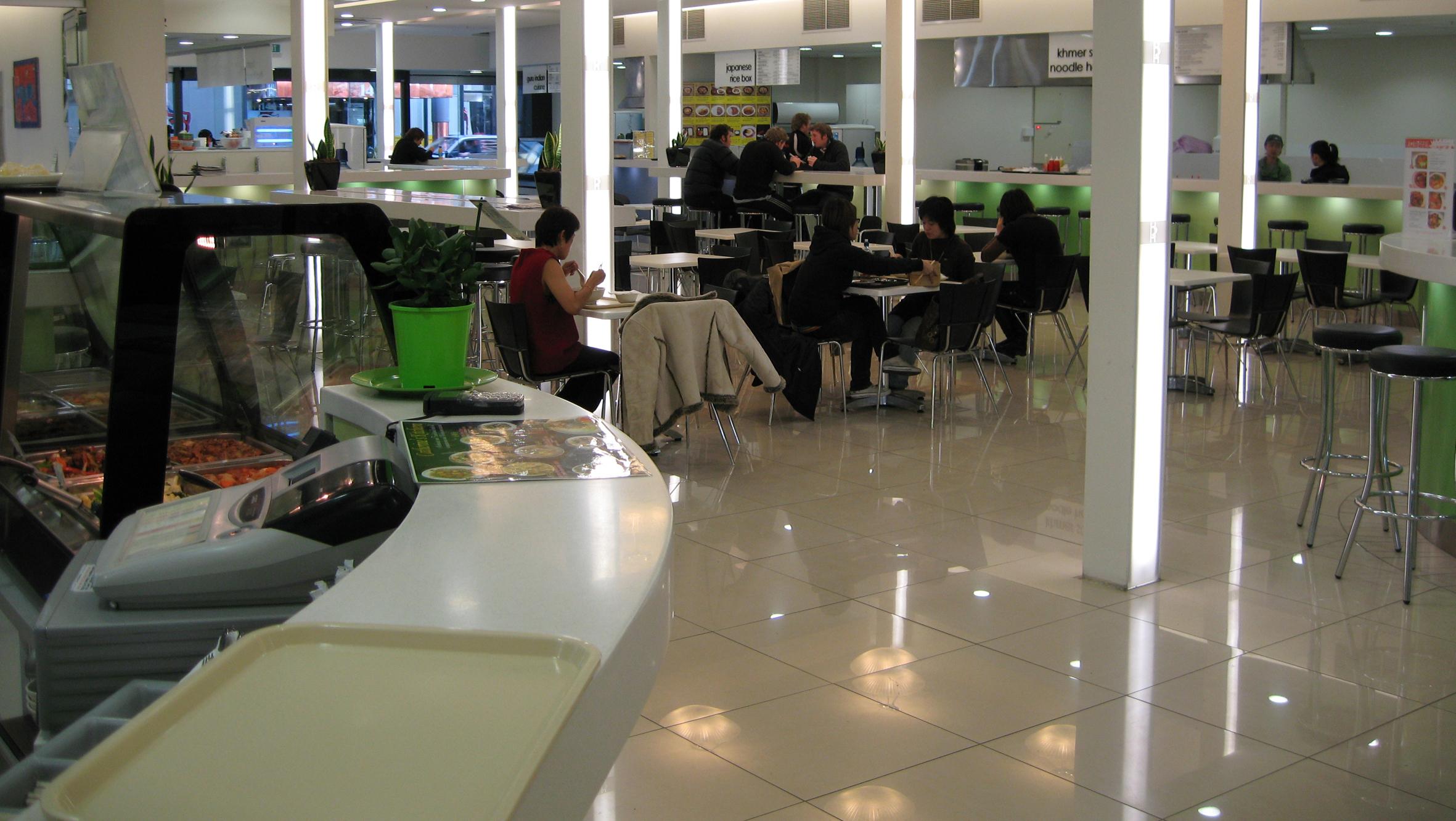 Cashel St food mall