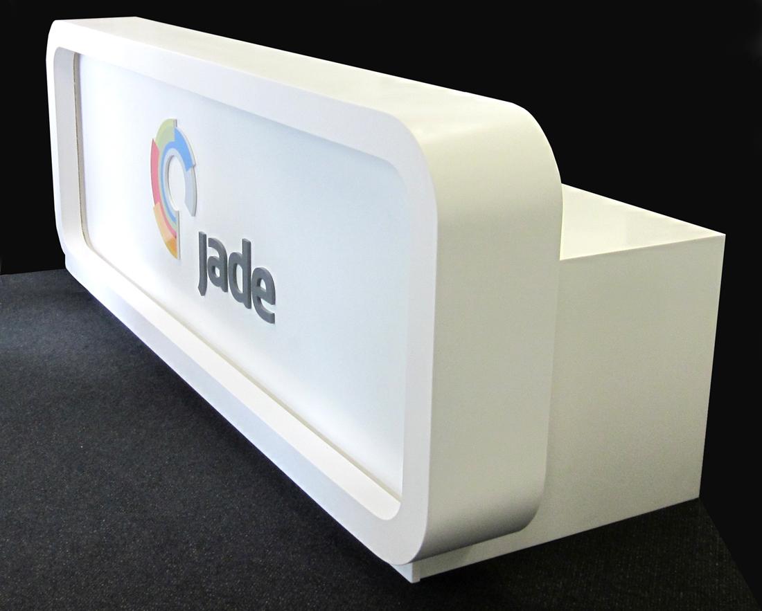 Jade Software reception desk