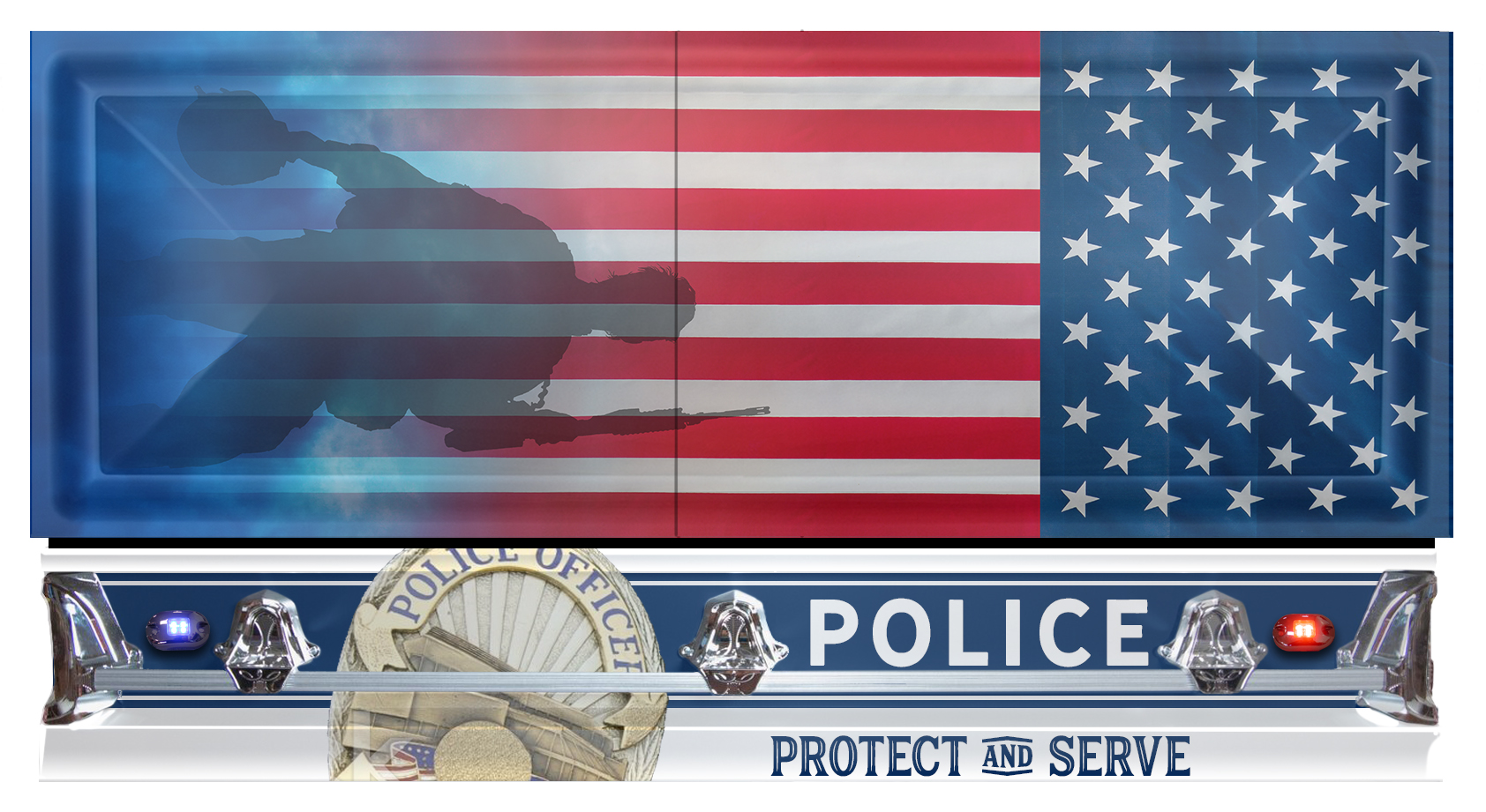 Our Hero's in Blue