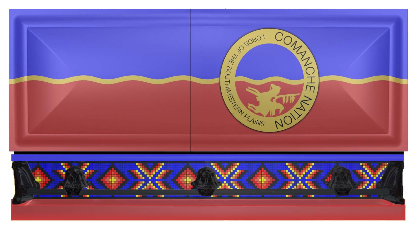 Comanche Nation Casket