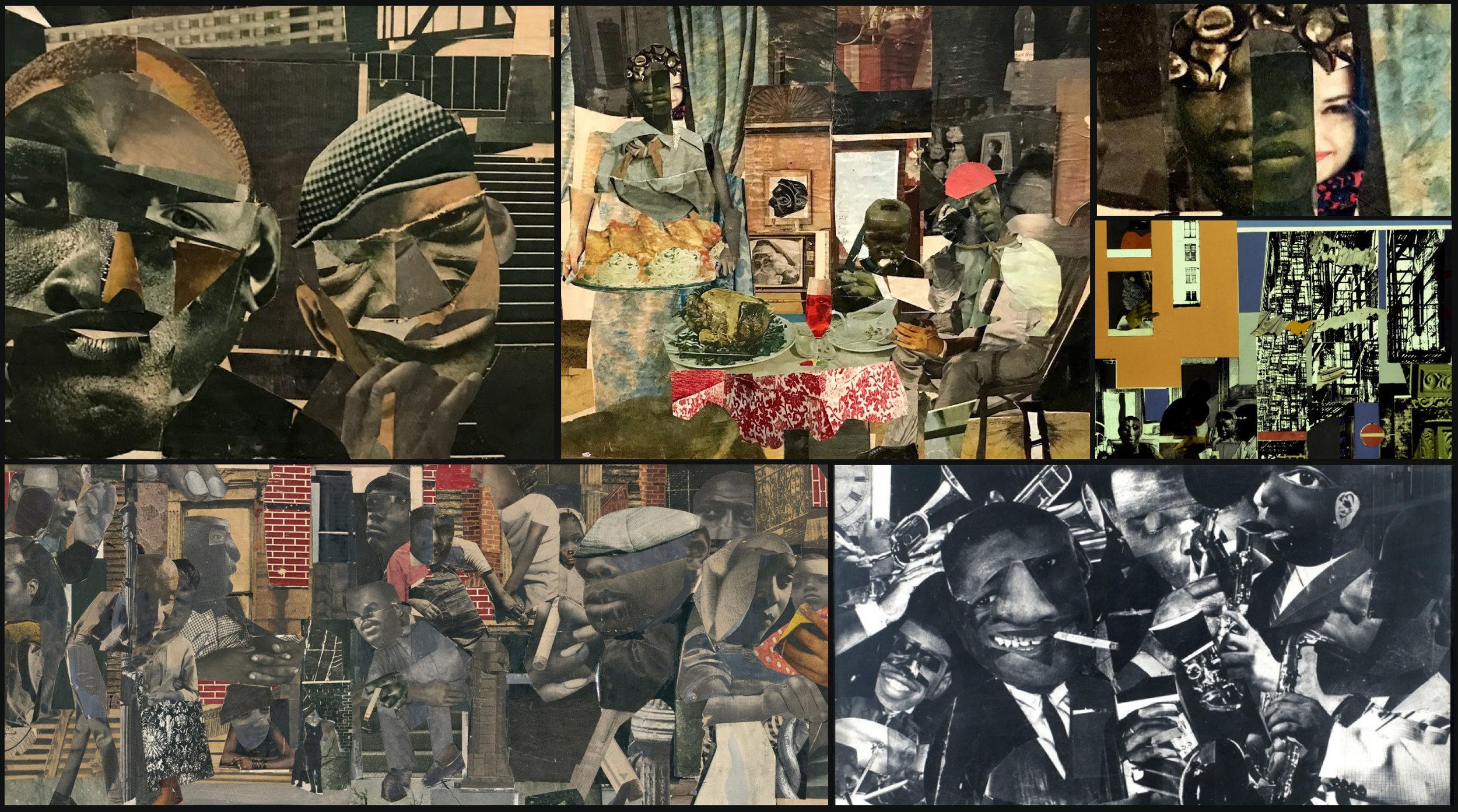 Inspiration - The collage art of Romare Bearden