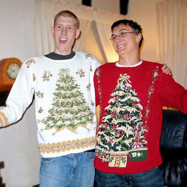 Holiday sweater party!