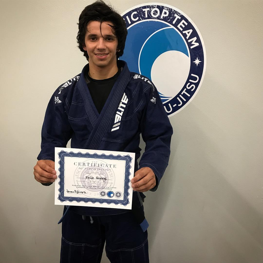 Felipe Hennings - Blue Belt Light Weight