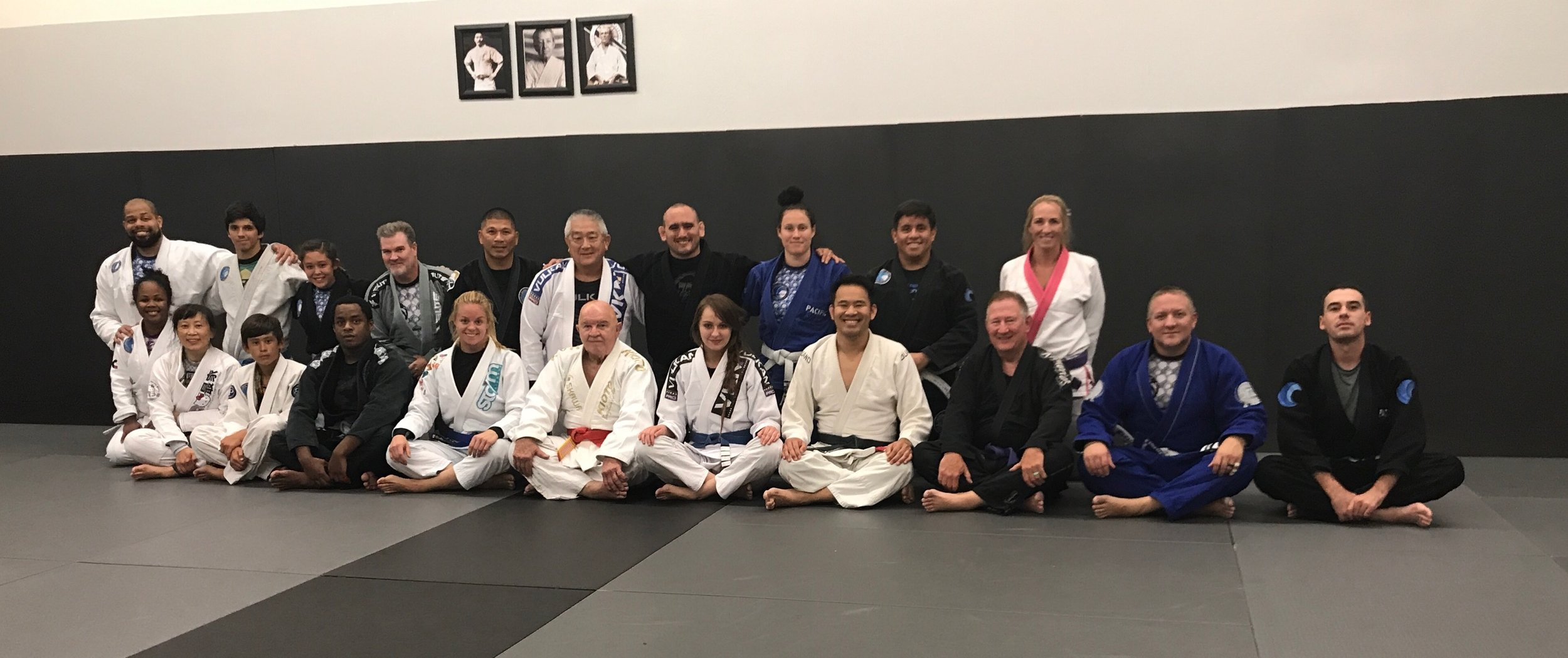 Grand Master with the Adults