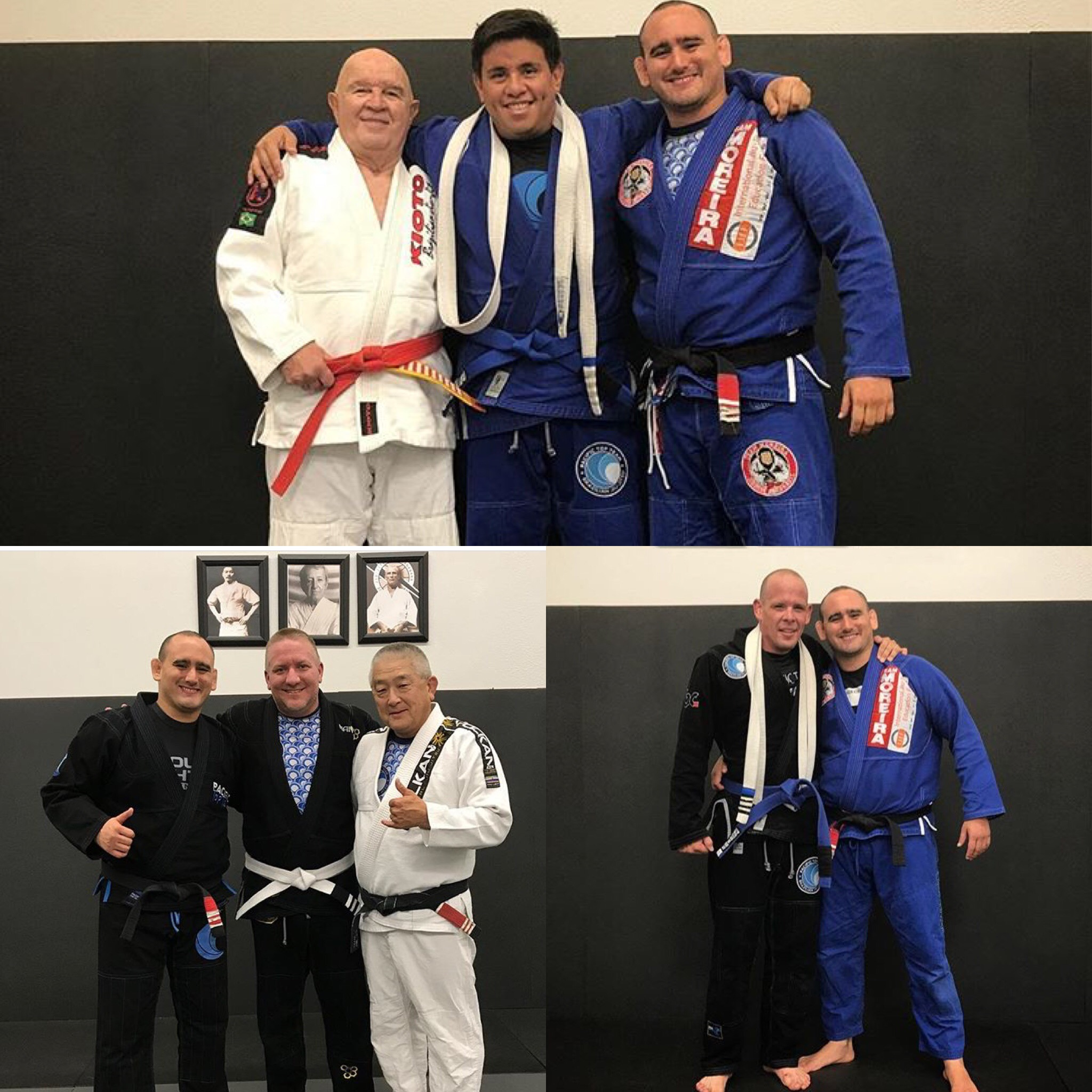 Super Congrats to Coach Mario and Bryan for receiving their blue belts