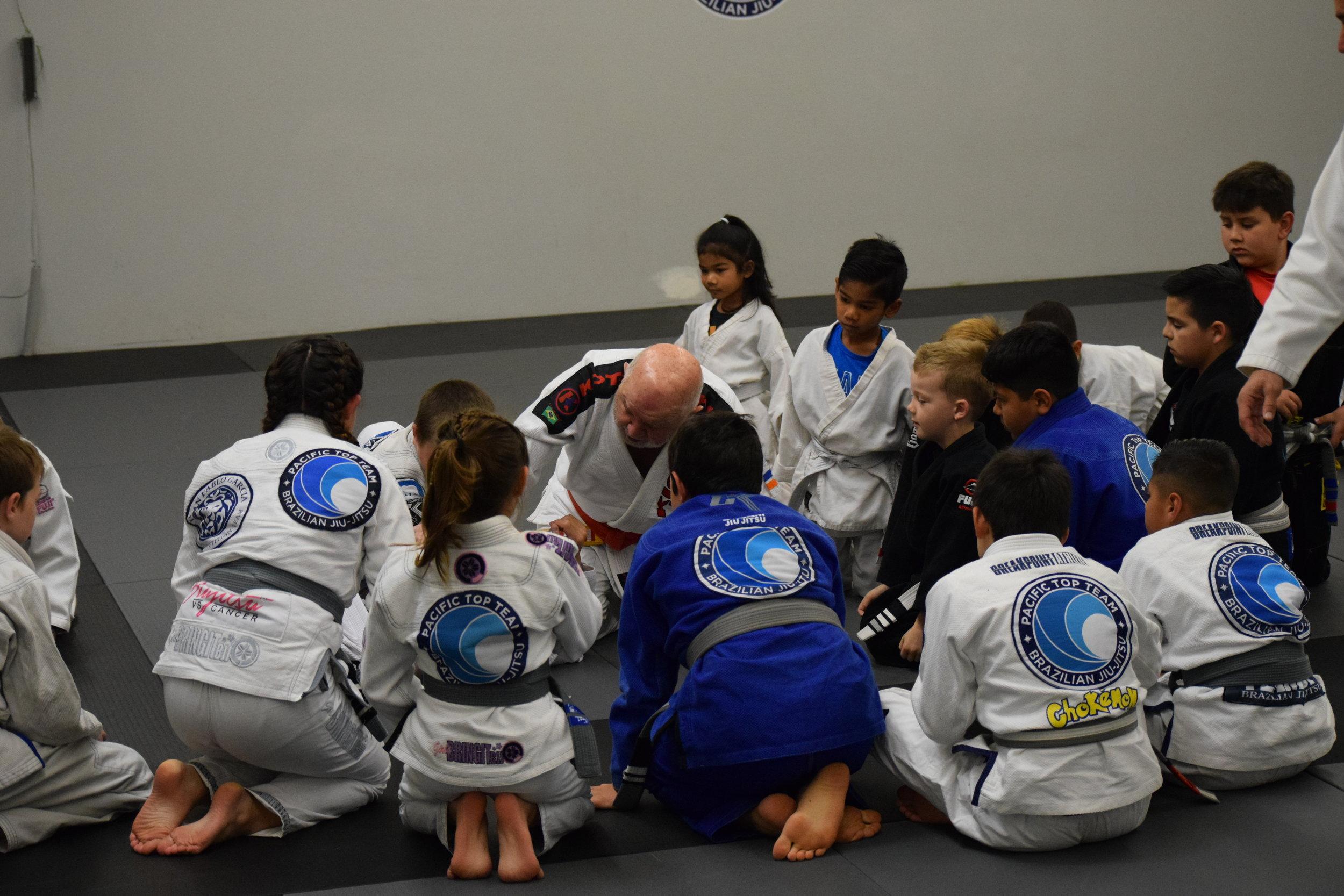 kids Brazilian jiu jitsu classes in corona