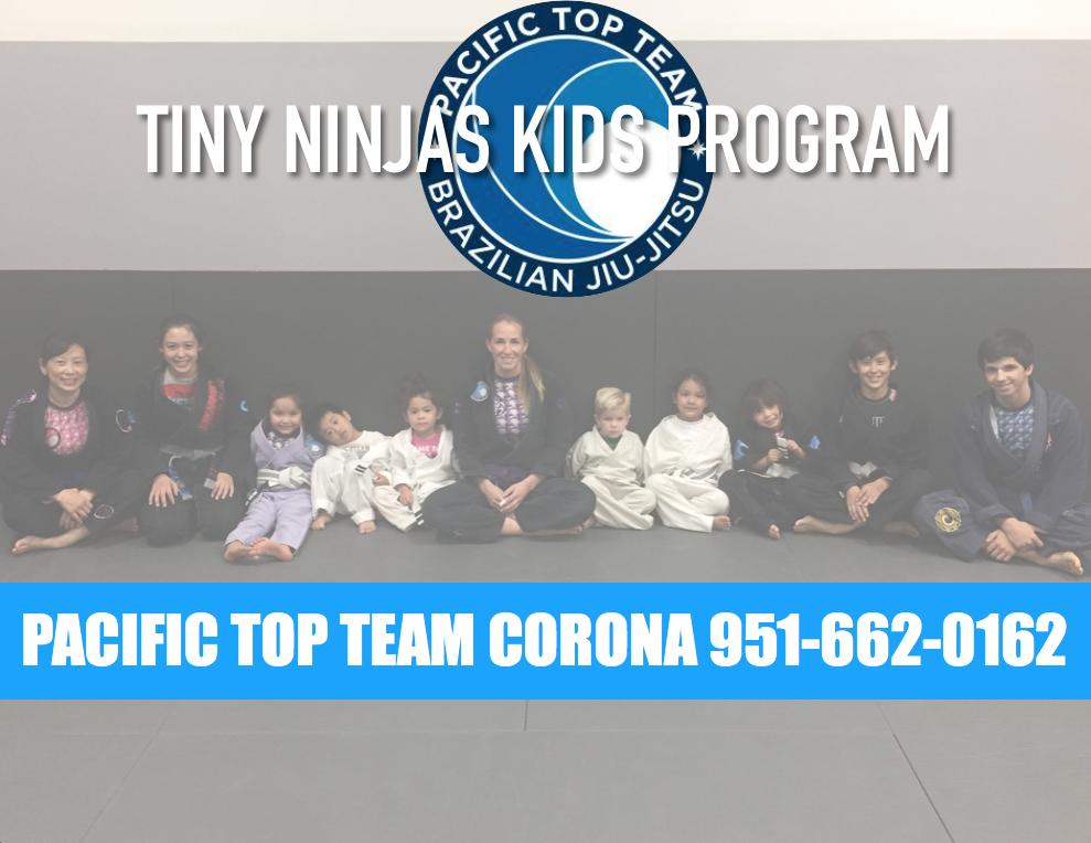Tiny ninjas kids jiu jitsu in corona