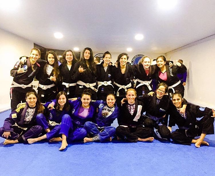 Woman's Only BJJ Class Every Tuesday & Thursday at 6pm at Pacific Top Team in Corona