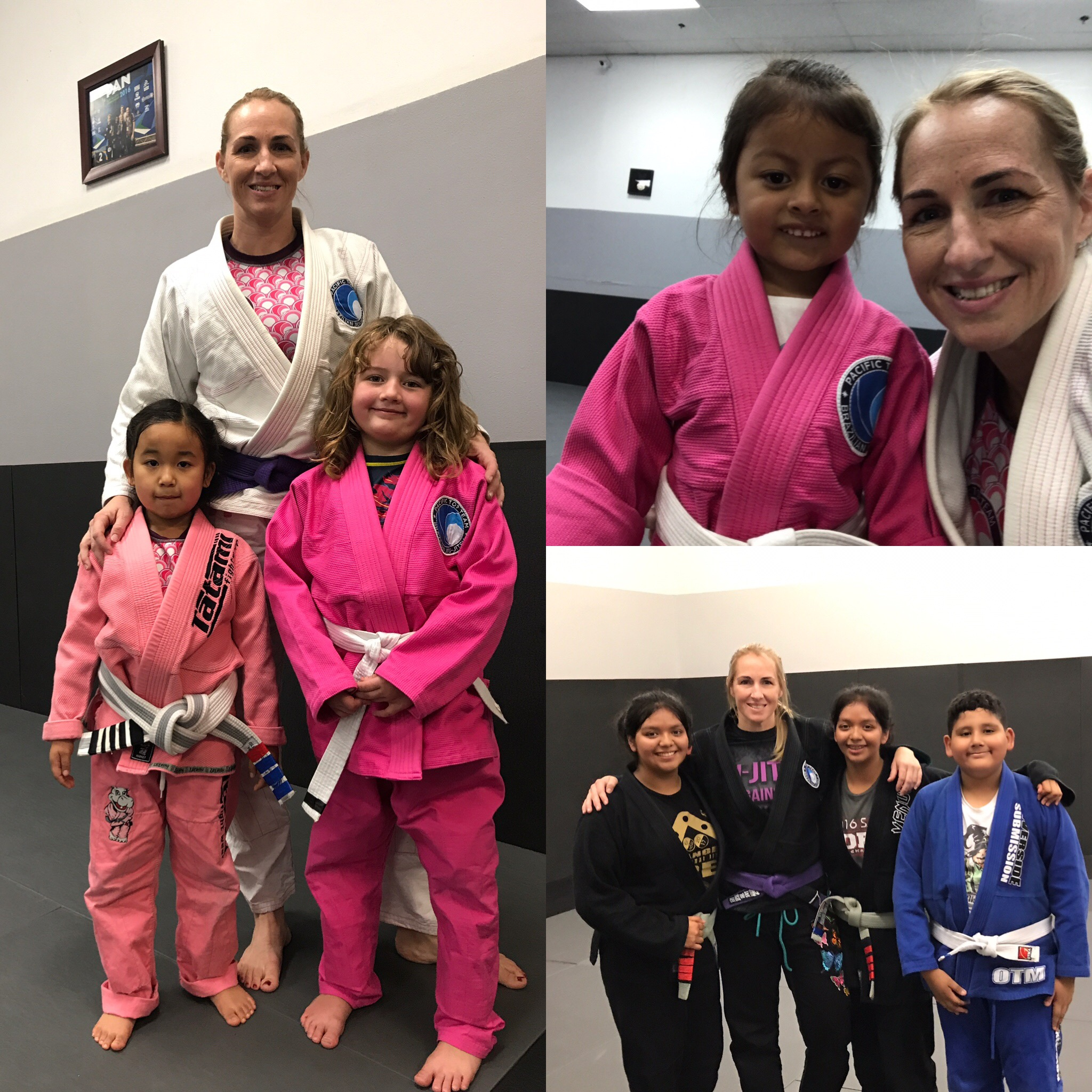 Congrats to Allison, Kelly, Melissa, Melinna, Luis and Catalaya!!!