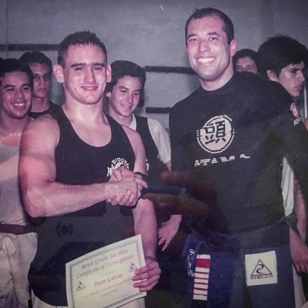 Juan Pablo Garcia and Royce Gracie
