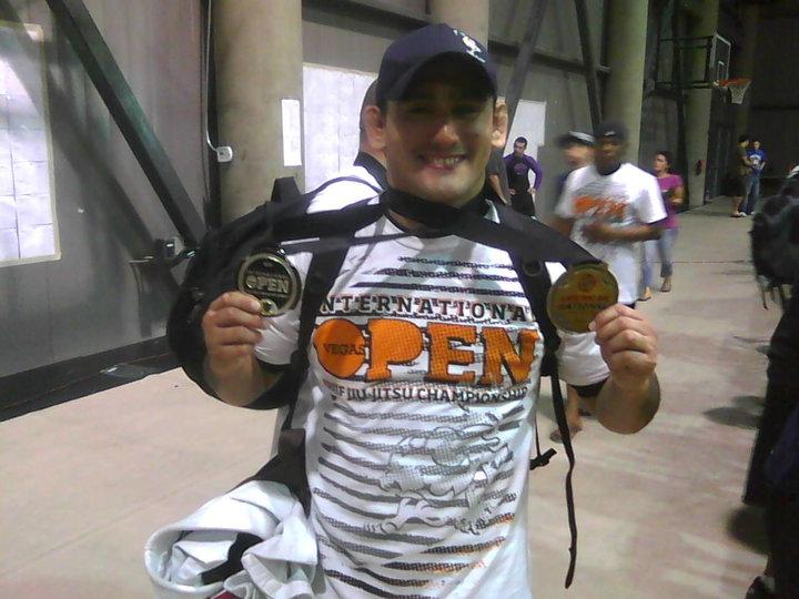 Juan Pablo Garcia Jiu Jitsu Champion
