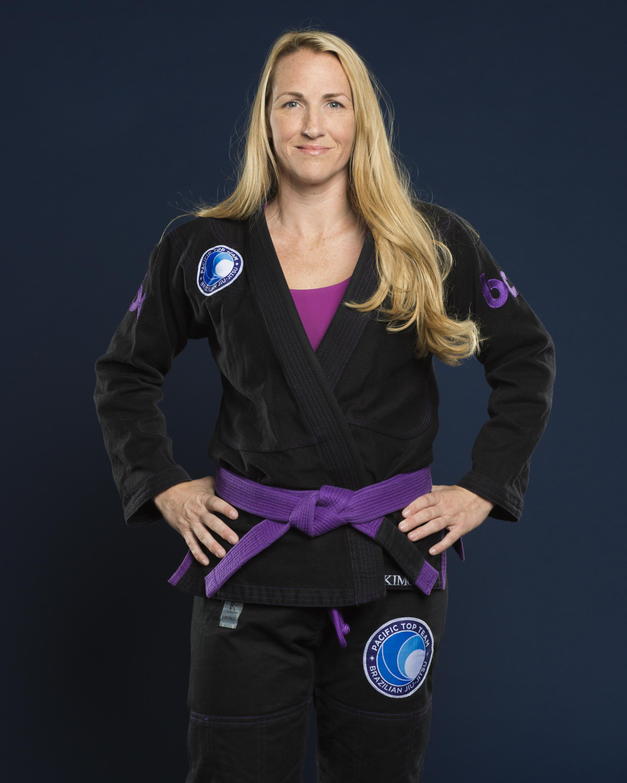 Female jiu jitsu competitor kim bowser