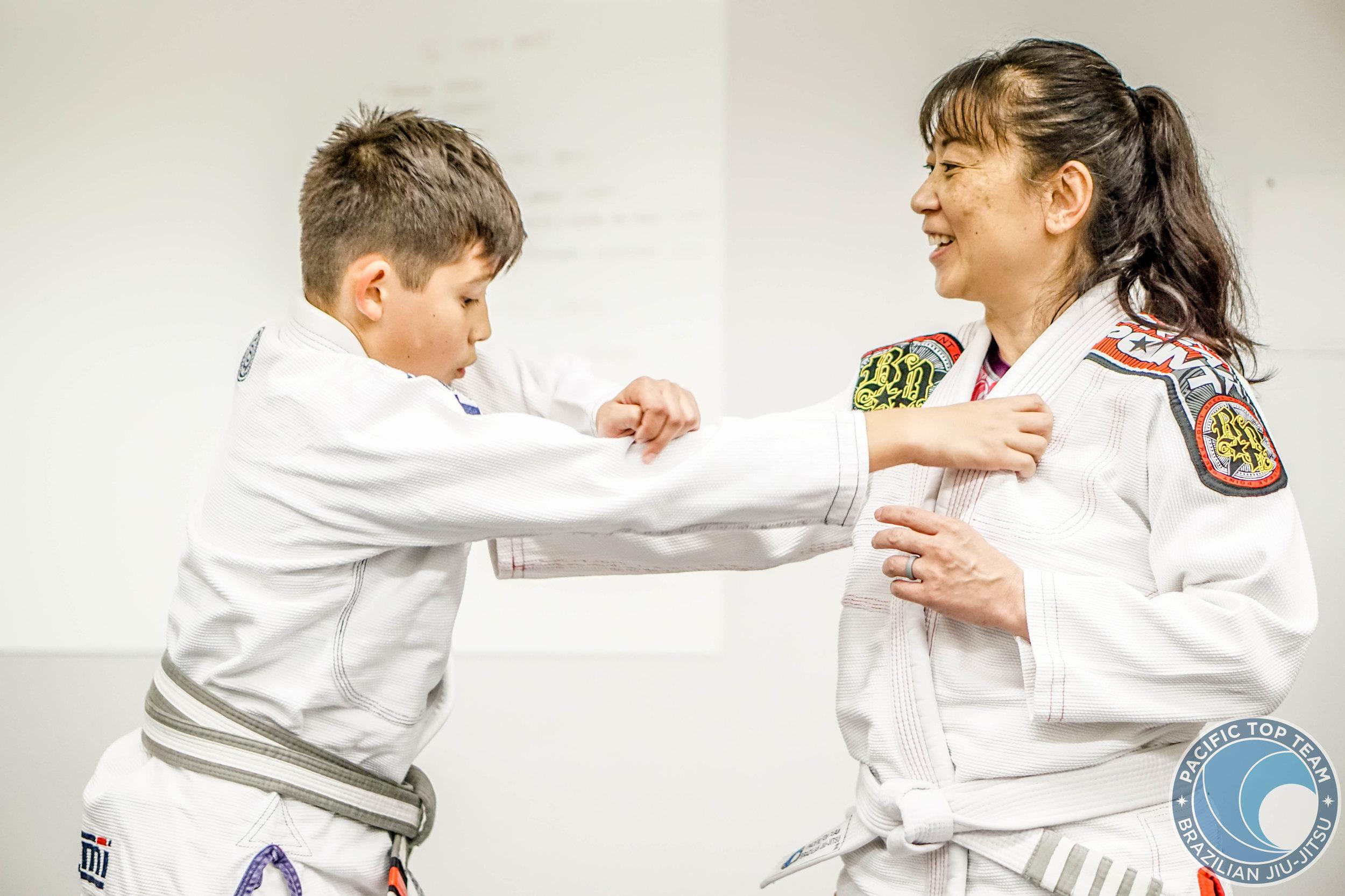 KIDS AN PARENTS JIU JITSU CLASS