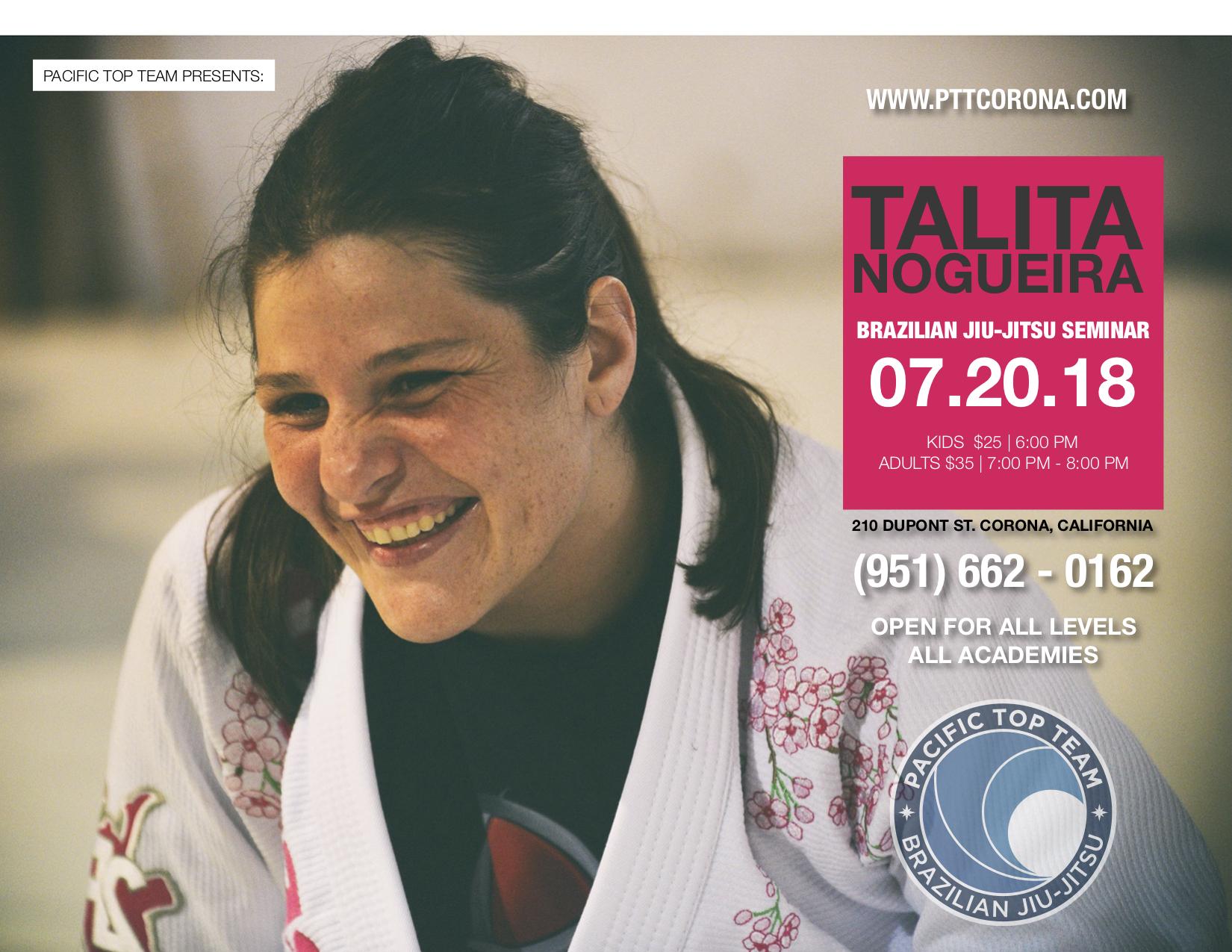 Brazilian Jiu-jitsu Seminar in Corona