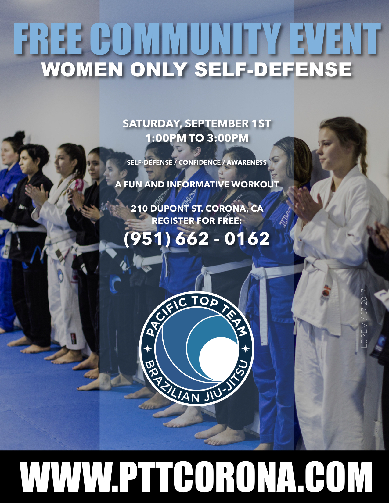 WOMEN ONLY Brazilian jiu jitsu corona