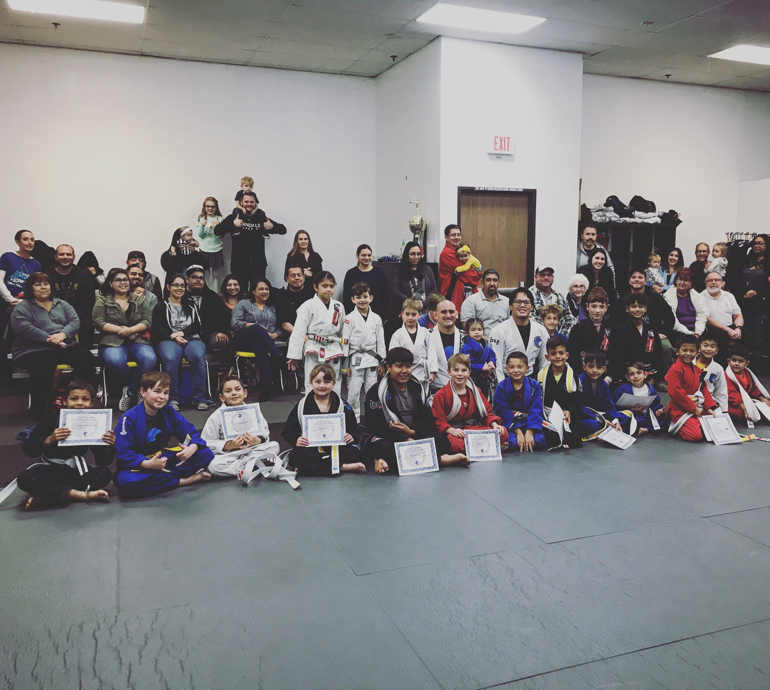 Kids Jiu Jitsu Belt Promotions Corona