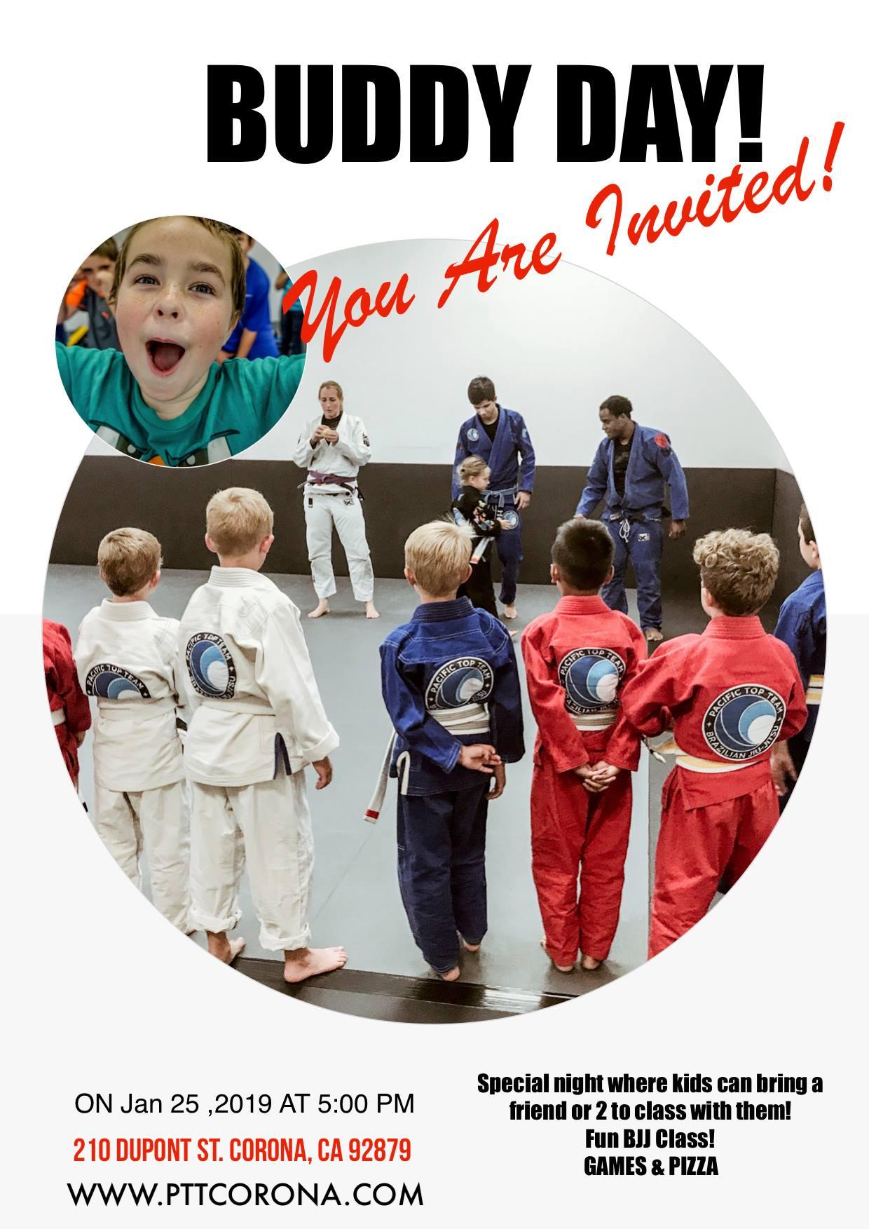 kids jiu jitsu event corona