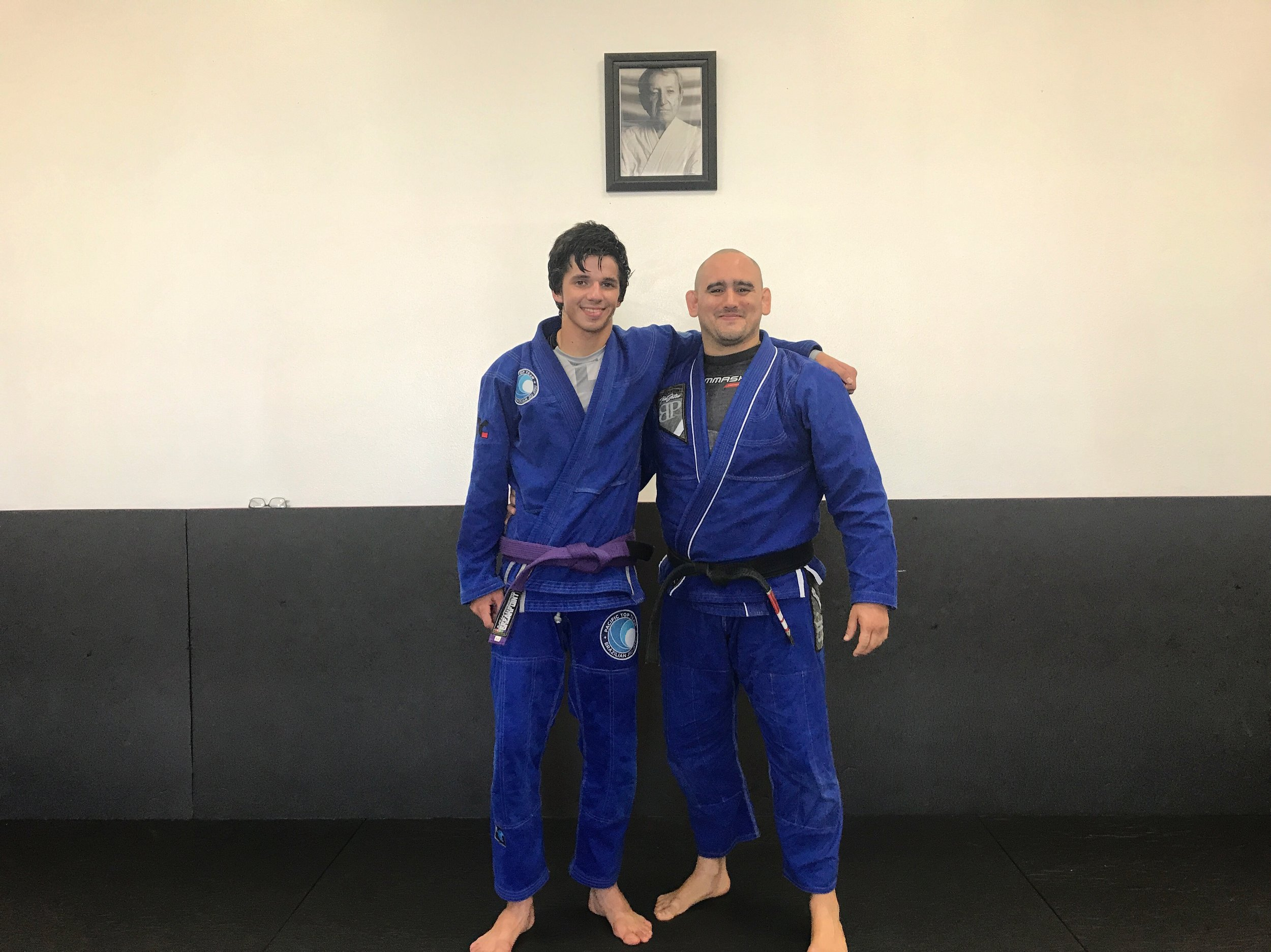 BJJ purple belt Bjj promotion corona